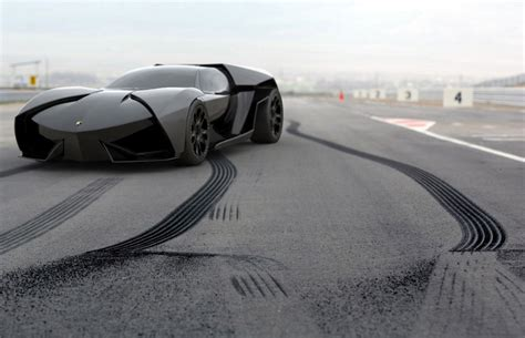 This Lamborghini Is The Batmobile Of Your Nightmares