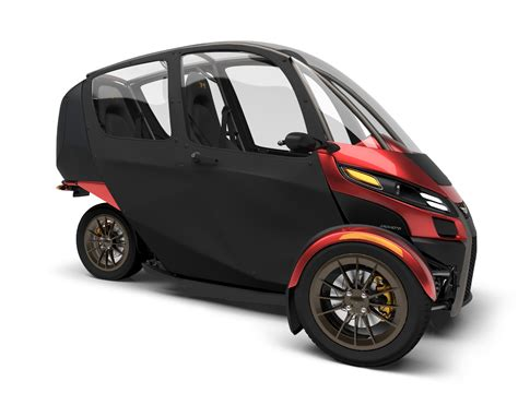 3 Wheel 2 Seat Car by Arcimoto Announces Production Plans For 11 900 Electric