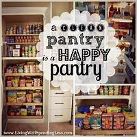 organizing a pantry 30 Clever Ideas to Organize Your Kitchen   Girl in the Garage®