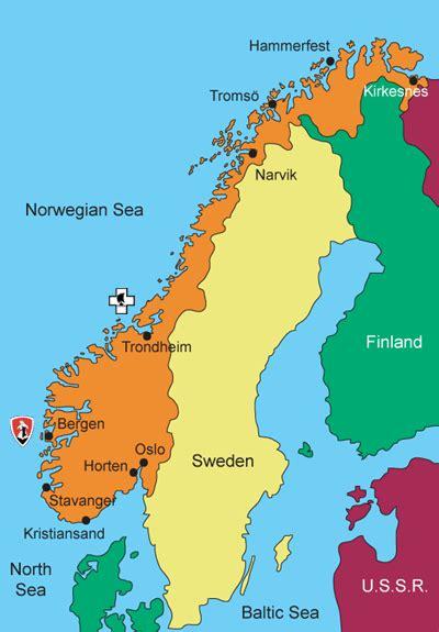 U Boat Norway by Uboat Net Boats Flotillas Bases In Norway