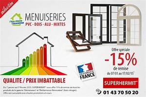 Menuiseries joint metallique for Promotion volet roulant