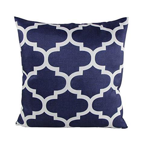 18x18 pillow covers cotton linen decorative throw pillow cushion cover