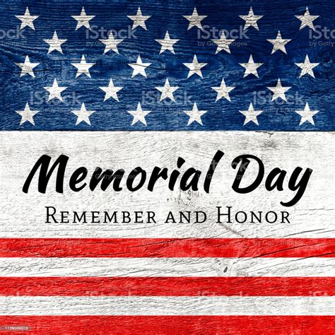 Memorial day (previously, but now seldom, called decoration day) is a federal holiday in the united states for honoring and mourning the military personnel who have died in the performance of their. Usa Memorial Day Background Stock Photo - Download Image Now - iStock