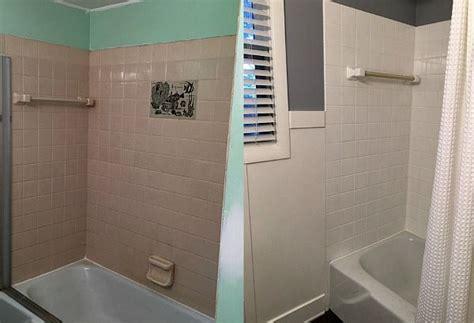 Badezimmer Fliesen Streichen by Rust Oleum Tub Tile Refinishing Kit Review Bathroom