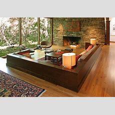 The Wellappointed Catwalk Sunken Living Rooms à La Mad Men