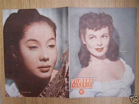 Barbara Halewin Min Than Yugo Mag 1955eleanor Parker Ebay