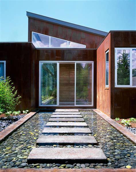 modern home features imposing contemporary home in aspen colorado