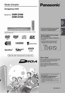 Dmr Eh58 Manual
