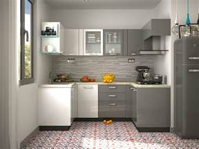 Small Modular Kitchen Designs Image