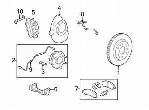 Gmc Yukon Brake Hydraulic Hose  Front