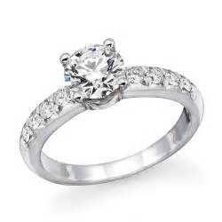 solitaire engagement rings with band solitaire engagement ring rings