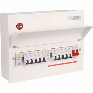 Plastic  Metal Ammendment 3 17th Edition Consumer Unit 10