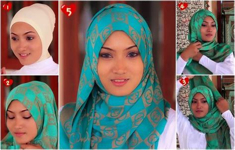 Tutorial Hijab Pashmina Simple Buat Lebaran Lebaran