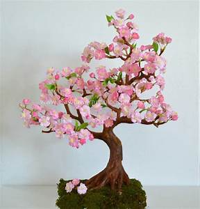 Cherry Blossom - Clay Flower Art