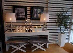 grey kitchen backsplash decorating with stripes for a stylish room