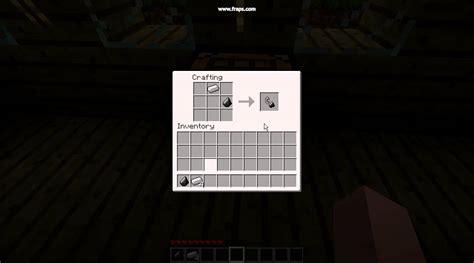 minecraft feuerzeug bauen youtube