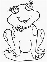 Frog Coloring Colorear Para Ranas Frogs Rana Imagenes Animada Animadas Theme Puppy Heart Sapos Adult sketch template