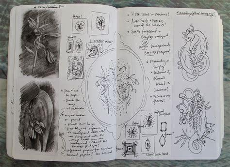 Inside My Sketchbook (part 1 Of 2)