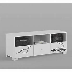 Meuble Tv 150 Cm : meuble tv music 150 cm azura home design ~ Teatrodelosmanantiales.com Idées de Décoration