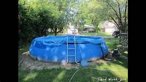Intex Pool Setup - 18 U0026 39  X 42 U0026quot
