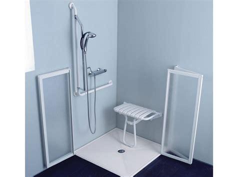 cabine doccia per disabili box doccia disabili cm 90x90x110 bianco iperceramica
