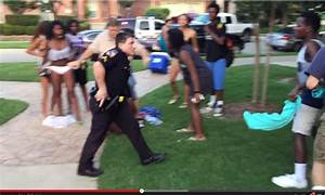 Texas officer suspended after pool party video shows him ...