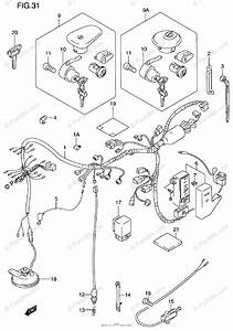 Suzuki Motorcycle 1999 Oem Parts Diagram For Wiring