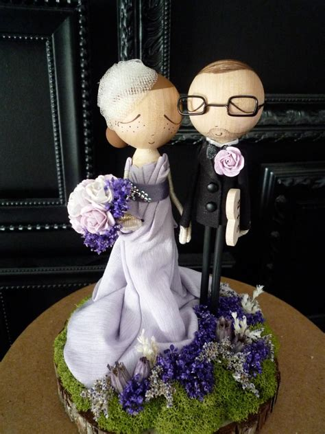 wedding cake topper with personalized wedding cake topper with custom wedding dress custom