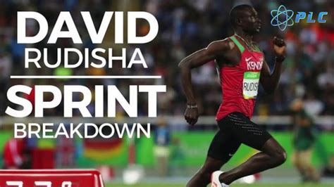 David Rudisha 800m Sprint Breakdown on the First 400m and