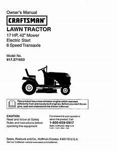 Craftsman 917 271653 User Manual