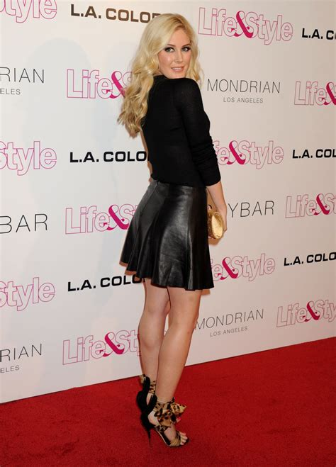 Heidi Montag Life Style Weekly Anniversary Party