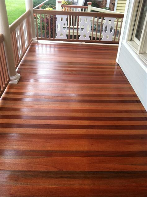 Porch Deck Sanding Refinishing Monmouth County NJ