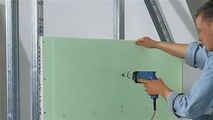 Poser Placo Mur Avec Rail : comment fixer un rail de placo ~ Melissatoandfro.com Idées de Décoration