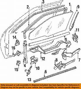 Oldsmobile Gm 95 97 Cutlass Supreme Front Door Lock Module