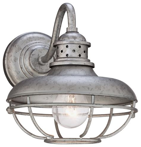 franklin park cage 9 quot high steel outdoor wall light
