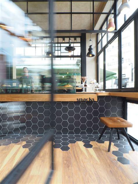 hexagon tiles transition  wood flooring