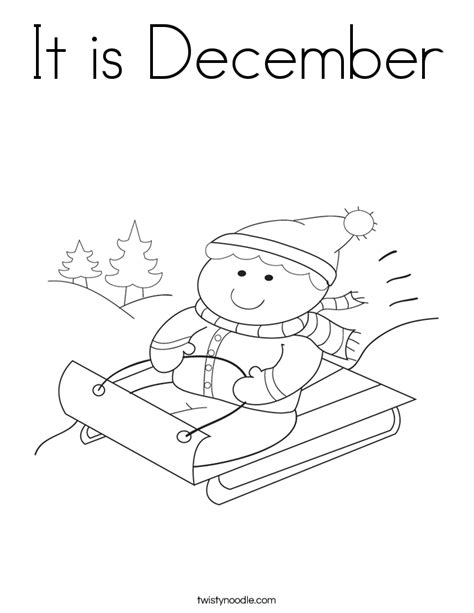 december coloring pages december coloring page coloring home