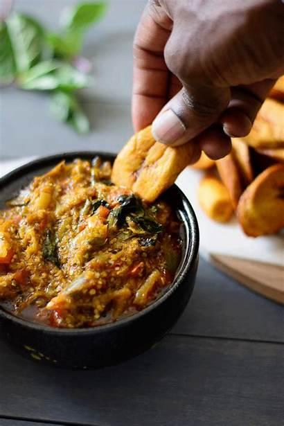 Stew Nigerian Eggplant Egg Garden Aubergine Rice
