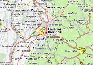 Mappa Friburgo in Brisgovia - Cartina Friburgo in ...