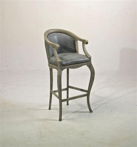 chaise haute tsarine avec accoudoirs pour table haute h 110cm assise h 70cm provence et fils