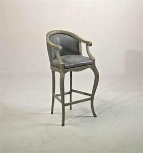 Chaise Cuisine Haute : chaise haute tsarine avec accoudoirs pour table haute h 110cm assise h 70cm provence et fils ~ Teatrodelosmanantiales.com Idées de Décoration