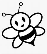 Bee Clipart Honey Colouring Kindpng sketch template