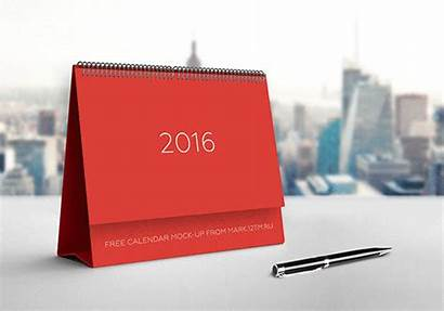 Calendar Mock Mockup Psd Behance Flyer
