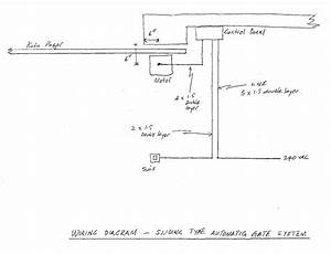 Wiring Diagram Example For A Dc Motor