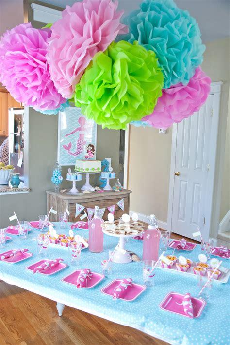 A Dreamy Mermaid Birthday Party  Anders Ruff Custom