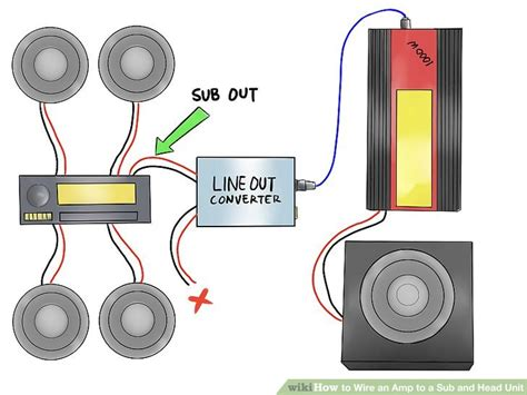 Wiring An Lifier And Sub by How To Wire An To A Sub And Unit 12 Steps