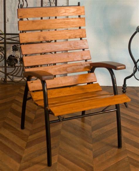 grand fauteuil jardin ext 233 rieur vintage ann 233 es 50