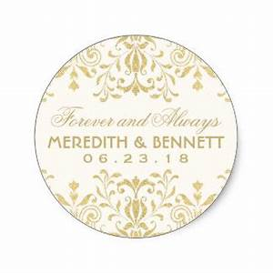 wedding stickers zazzle With stickers for wedding favors