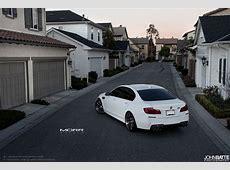 BMW F10 M5 on 21