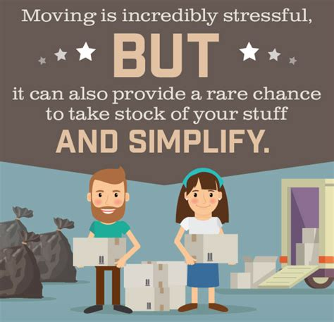 moving is stressful moving stress how clutter doesn t help a slob comes clean